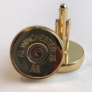 Winchester 12 Gage Cuff Links